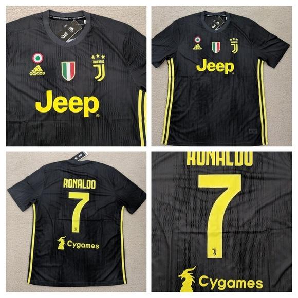 Cristiano Ronaldo Juventus Third Away 18 19 Jersey c2380e1c3